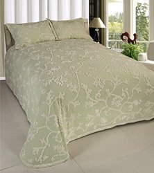 Long Branch Chenille Bedspread Sage