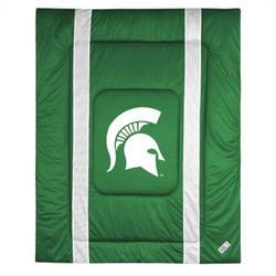Northwest NCAA Michigan State Spartans Bedding Comforter - Size: Twin/Full