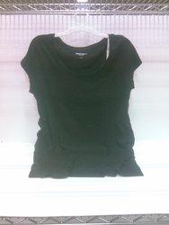 Liz Lange Women's Maternity Shirt - Ebony - Size: Large