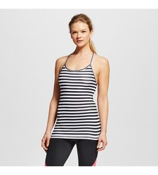 C9 Champion Women's Performance Fitted - Tank Top - White/Black - Size: XL