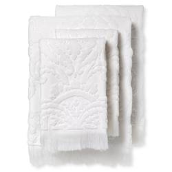 Fable Montfort Textured Bath Towel Set of 4 - White - Size: One