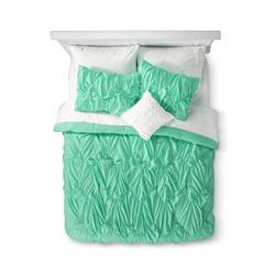 Xhilaration Chevron Bed In a Bag with Sheet Set - Green - Size: Full