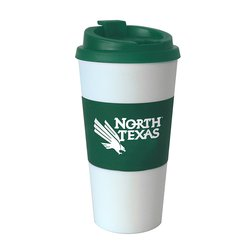 Boelter NCAA North Texas Mean Tumbler with Sleeve - Green