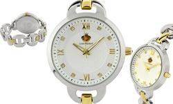 Louis Richard Felina Ladies Watch - Gold/Silver Band