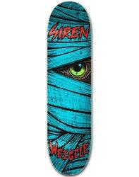 Siren Complete Weigele Lazarus Skateboard Deck - Blue - 8.5