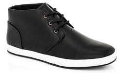 Adolfo Men's Edward Hi Top Sneakers - Black - Size: 9