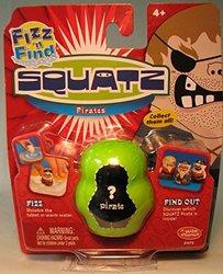 Wild Planet Squatz Fizz & Find Pirate Single Figure Pack