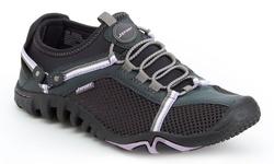 JSport by Jambu Womens Slip-On Shoes - Pegasus Charcoal/Lavender - Size: 9