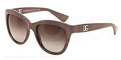 Dolce Gabbana Women's Sunglasses - DG6087 Brown Frame/Brown Lens