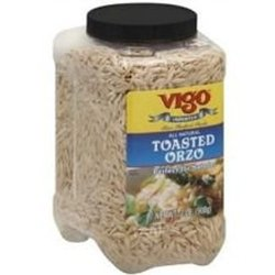 Vigo 2 lbs. All Natural Toasted Orzo - Pack of 4