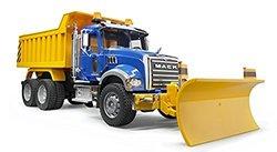 Bruder Kids Realistic Mack Granite Dump Truck Toy