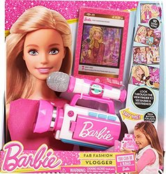 Barbie Fab Fashion Vlogger Play Microphone & Tablet Toy
