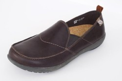 Spenco Men's Siesta Leather - Dark Chocolate Oiled - Size: 8