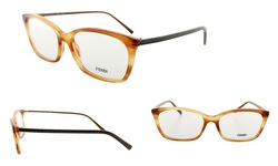 Fendi Women's Optical Frames - Orange/Brown