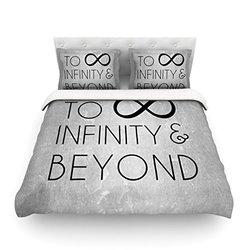 "Kess InHouse KESS Original ""To Infinity and Beyond"" 104 by 88-Inch Cotton Duvet Cover, King"