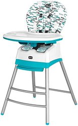 Chicco Stack 3-in-1 High Chair - Blu Fleck