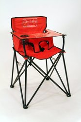 High Chair Ciao Baby Port Red