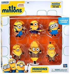 "Despicable Me Minions Collectible Figure Set- 6Piece  - 2"""""" 1048619"