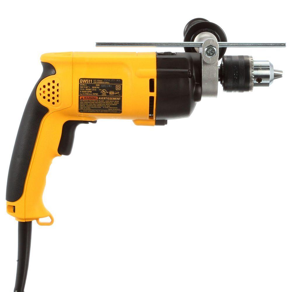 DeWalt 1/2 in. Variable Speed Reversible Corded Hammer ...
