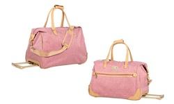 Sociology Katrina Luggage Wheeled City Bag - Rose
