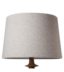 Threshold Herringbone Lamp Shade - Gray - Size: Large