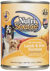 Nutri Source Canned Dog Food 13 Oz 12 Pks