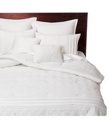 Colette Bedding Comforter 8 Pc Set - White - Size: Queen