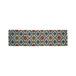 "Threshold Hooked Floral Bell Runner - Cream - Size: 1'10"" x 7'"