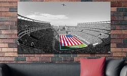 Touch Of Color Nfl Stadium Gallery Wrapped Canvas: Patriots