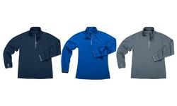 Zorrel Womens 3-pack 1/4 Zip Fleece Pullovers - Assorted - Size:L