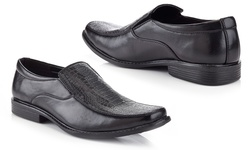 Marco Vitale Men's Dress/Casual Loafer - Black - Size: 10