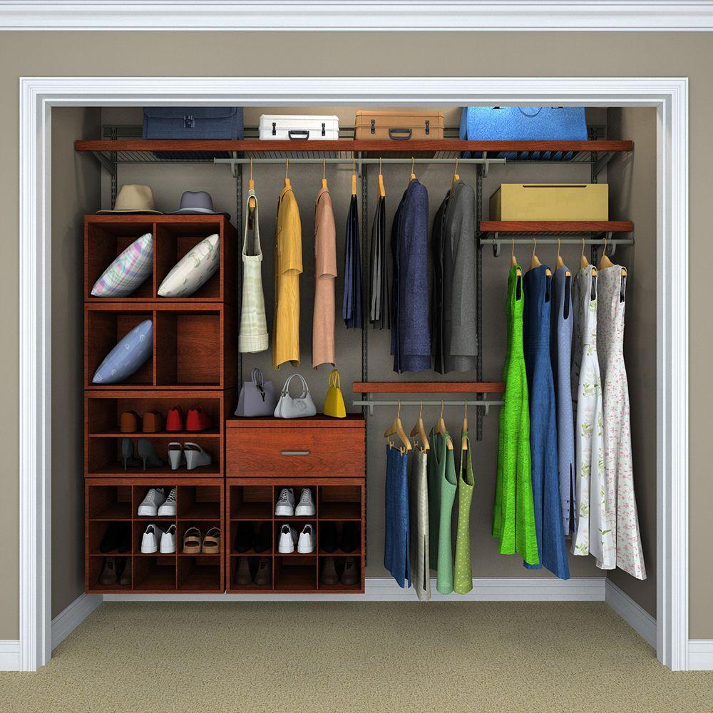 ClosetMaid Elite 9 3 4 In Wood Look Drawer Storage