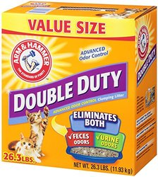 Arm & Hammer Double-Duty Advanced Odor Control Clumping Cat Litter - 37lb