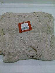 Mossimo Women's Long Sleeves Boyfriend Cardigan - Oatml Solid - Size: XL