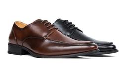 Signature Men's Lace-up Dress Shoes-wine-10.5