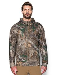 Under Armour Men's Storm Icon Camo Full Zip Hoodie - Camo - Size: Large