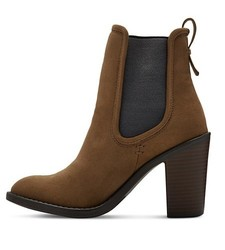 Merona Women's Charli Booties - Olive - Size: 9