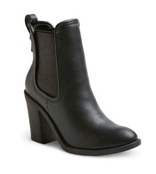 Merona Women's Charli Booties - Black - Size: 9.5