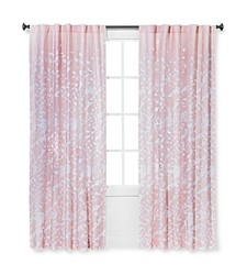 "Sabrina Soto Playa Blush Curtain Panel - Pink - Size: 54"" X 84"""