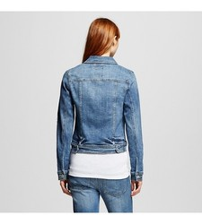 Mossimo Women's Denim Jacket - Blue - Size: Small