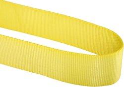 """Mazzella Polyester Web Sling - Yellow - Size: 12'L x 4""""W"""