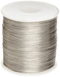 Small Parts Nickel Chromel-C Chomium Resistance Wire Pack of 1 - 199'L