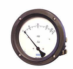 WIKA Differential Pressure Gauge with Stainless Steel 316L Wetted Parts
