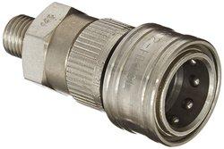 Eaton Hansen Stainless Steel Ball Lock Hydraulic Fitting Socket