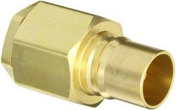 Eaton Hansen Brass ISO-B Interchange Hydraulic Fitting Plug with Valve