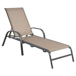 Room Essentials 4 Pack Stack Sling Patio Lounge Chair - Tan