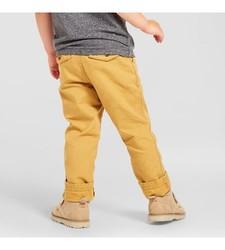 Oshkosh Boy's Chino Pant - Coronet Gold - Size: 3T