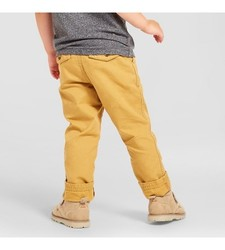 Oshkosh Boy's Chino Pant - Coronet Gold - Size: 4T