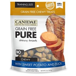 Canidae Grain Free Chewy Treats For Dogs With Sweet Potato & Duck - 6 oz