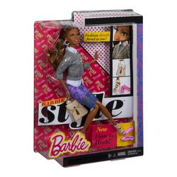 Barbie Style Doll with 2 Pairs of Shoes - Grace
